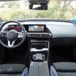Prueba Mercedes-Benz EQC salpicadero