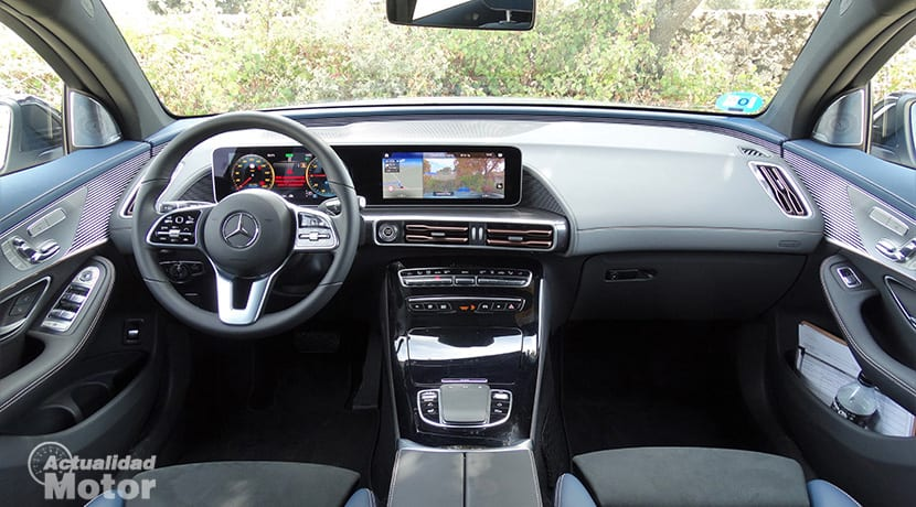 Prueba Mercedes-Benz EQC 400 4Matic interior