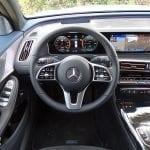 Prueba Mercedes-Benz EQC puesto de conducción
