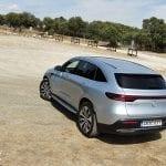 Prueba Mercedes-Benz EQC trasera