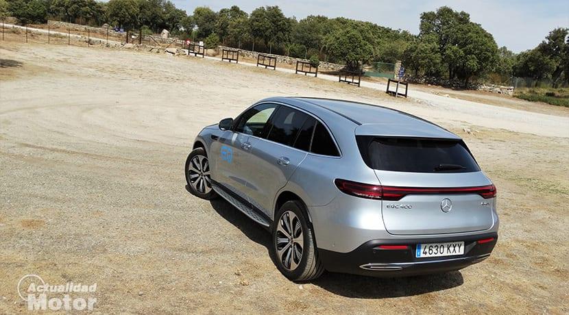 Prueba Mercedes-Benz EQC parte trasera