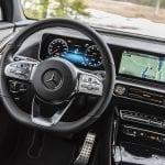 Prueba Mercedes-Benz EQC volante