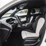 Prueba Mercedes-Benz EQC asientos delanteros