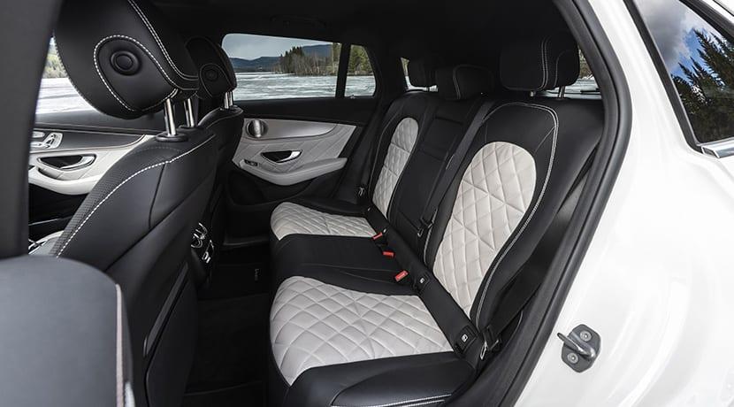 Mercedes EQC plazas traseras