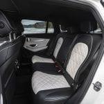 Prueba Mercedes-Benz EQC asientos traseros