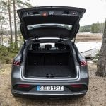 Prueba Mercedes EQC maletero abierto