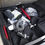 Prueba Mercedes EQC doble fondo maletero
