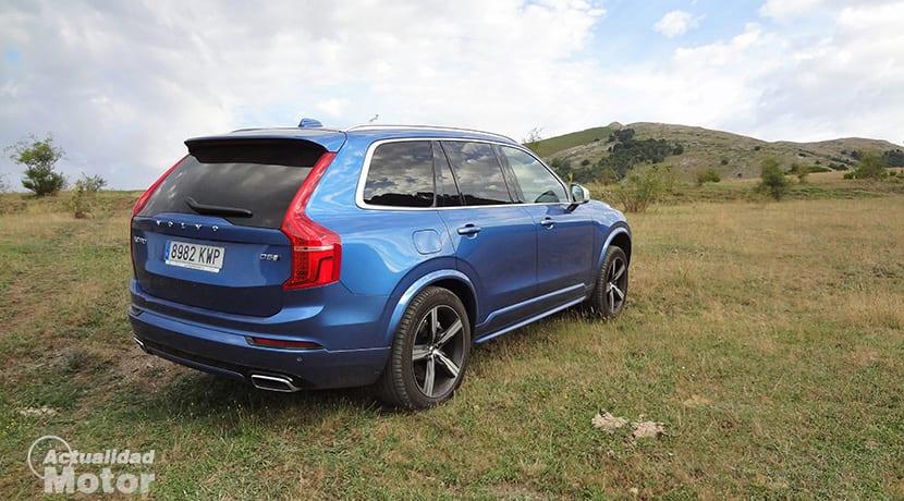 Prueba Volvo XC90 T5 R-Design 235 CV