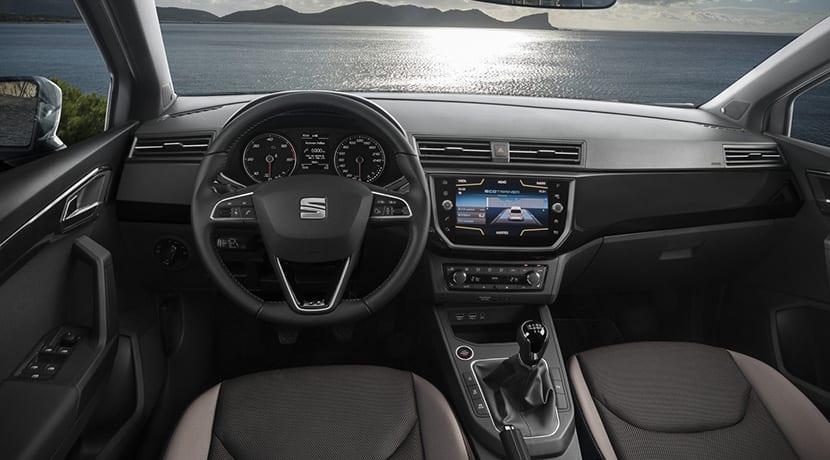 Interior del Seat Ibiza