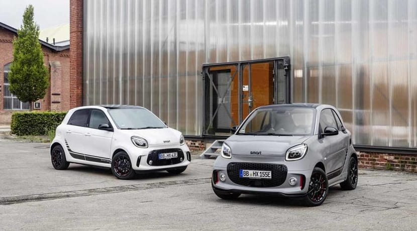 Smart Fortwo y Forfour EQ 2020