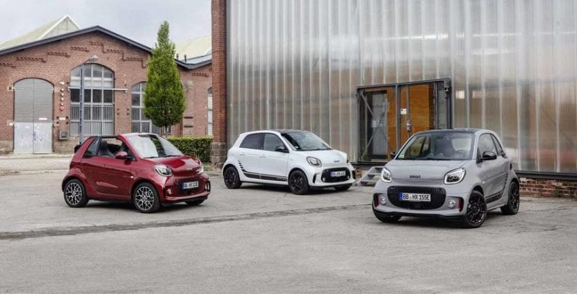 Smart Fortwo Coupe y Cabrio 2020 y Forfour 2020