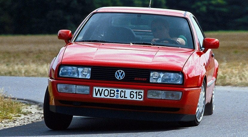 Dinamica de conducción y diversión al volante del Volkswagen Corrado
