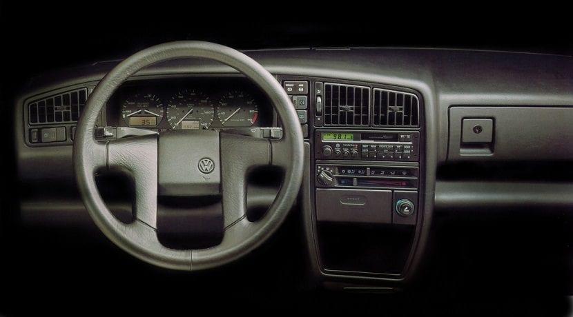 Interior del Volkswagen Corrado