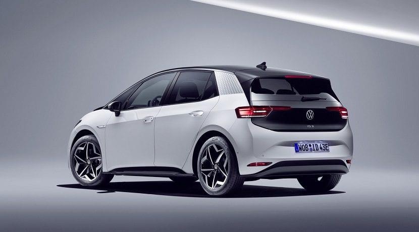 Trasera del nuevo eléctrico de VW