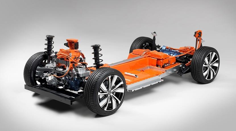 Volvo XC40 eléctrico mecanica