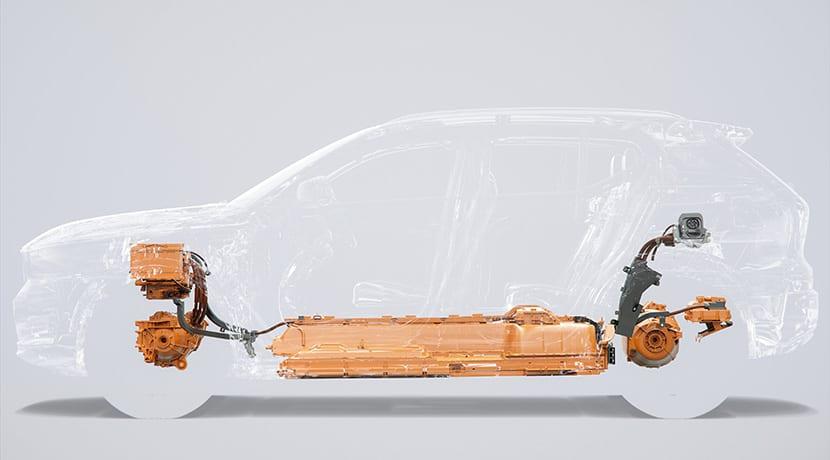 Volvo XC40 eléctrico radiografía