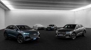 Audi Sportback Electric Concept teaser