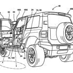 Ford Bronco Mirror Patent Rear