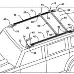 Ford Bronco Roof Rail Patent