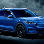 Ford Mustang Electric SUV - Ford Mach E blue render