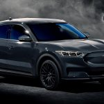 Ford Mustang Electric SUV - Ford Mach E grey render