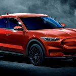 Ford Mustang Electric SUV - Ford Mach E red render