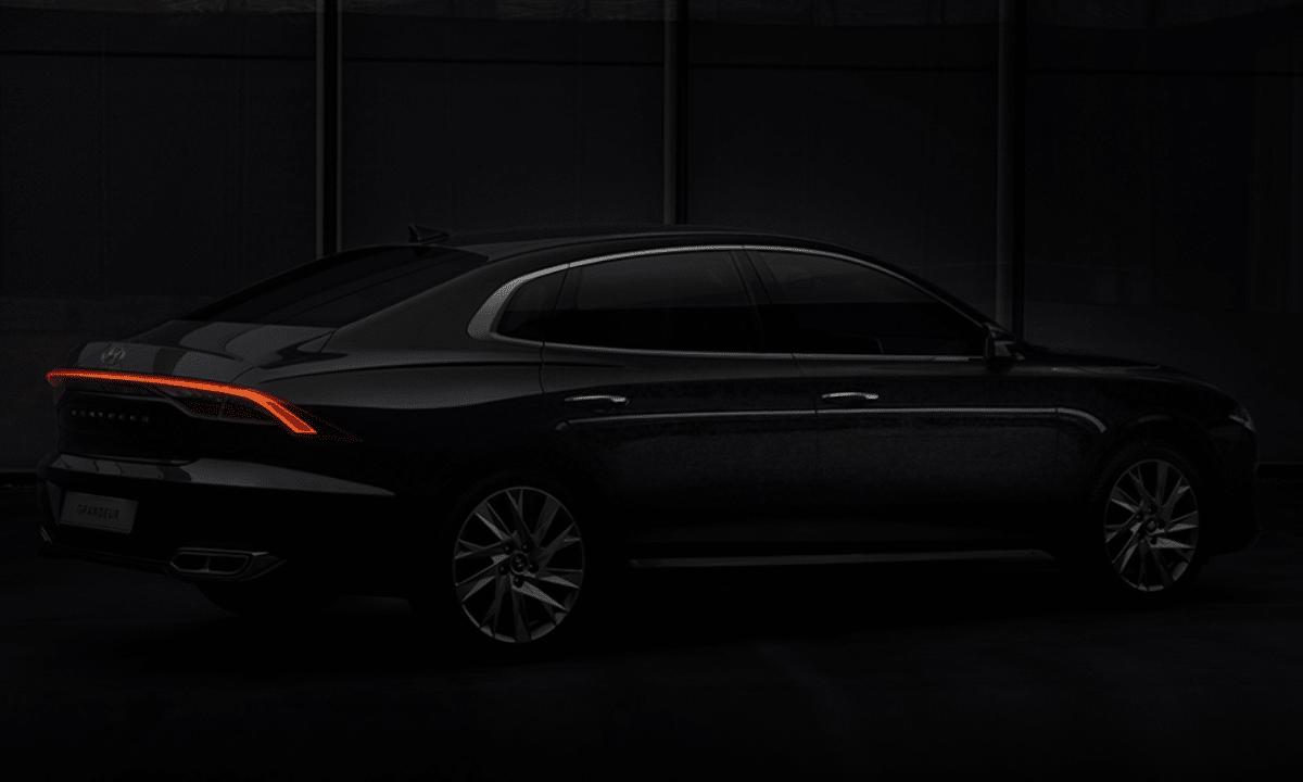 Hyundai Grandeur 2020 teaser