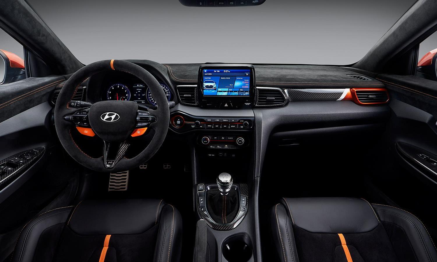 Hyundai Veloster N Performance Concept inside