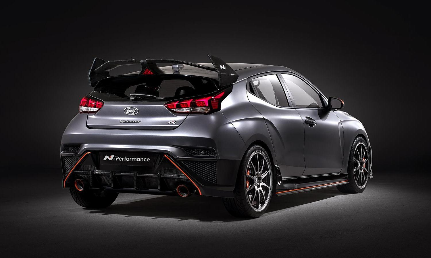 Hyundai Veloster N Performance Concept rear