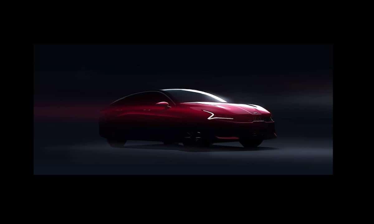 Kia Optima - Kia K5 2020 front teaser