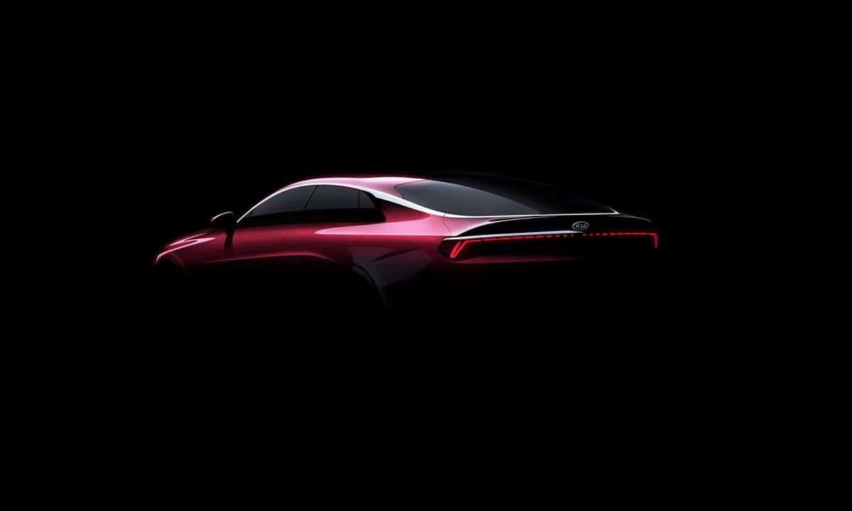 Kia Optima - Kia K5 2020 rear teaser