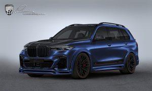 Lumma CLR X7 blue front