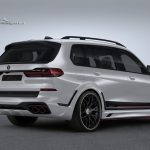 Lumma CLR X7 white rear