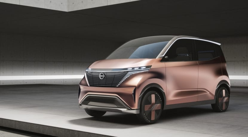 Nissan IMk Concept frontal