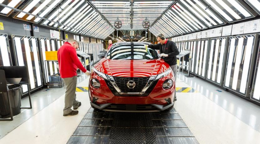 Nissan Juke 2019 goes into production Sunderland