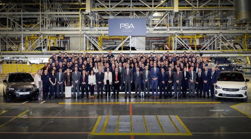 Opel Corsa producción Figueruelas (Zaragoza)