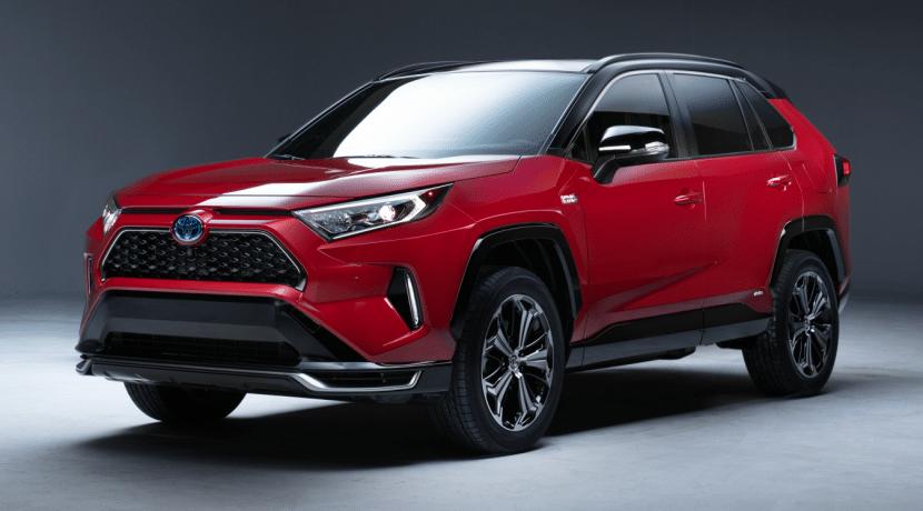 Toyota RAV4 PHEV Plug-in Hybrid Los Angeles Auto Show 2019