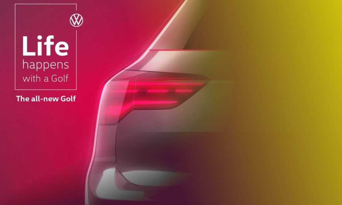 Volkswagen Golf MKVIII The last teaser