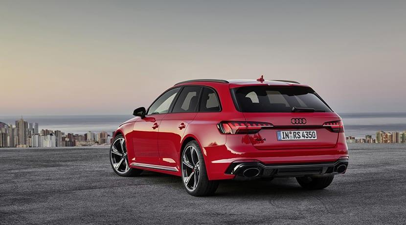 Audi RS 4 Avant trasera