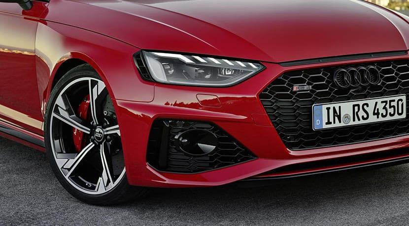 Audi RS 4 Avant detalle frontal