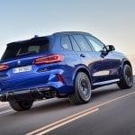 BMW X5 M Competition dinámica trasrea