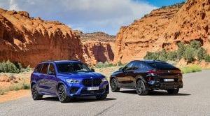 BMW X5 M y BMW X6 M