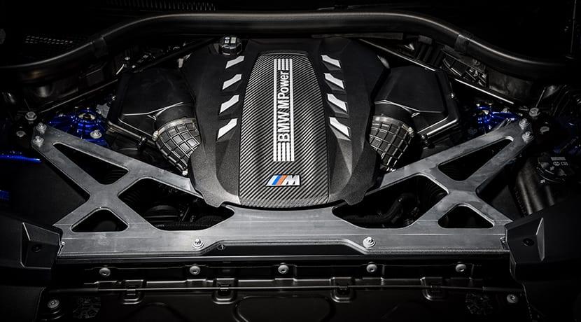 BMW X6 M y BMW X5 M motor
