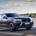 BMW X6 M Competition perfil delantero
