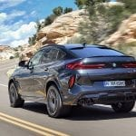 BMW X6 M Competition perfil trasereo