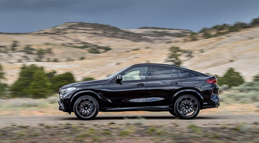 BMW X6 M Competition lateral