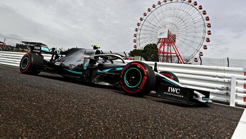 Mercedes de Bottas en GP de Japón F1 2019