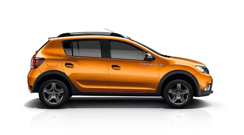 Lateral del Dacia Sandero Stepwey
