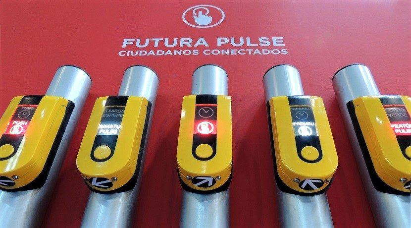 Pulsadores semafóricos diseñados y fabricados en España para mejorar la seguridad vial