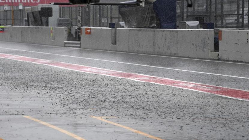 GP de Japón F1 2019 lluvia
